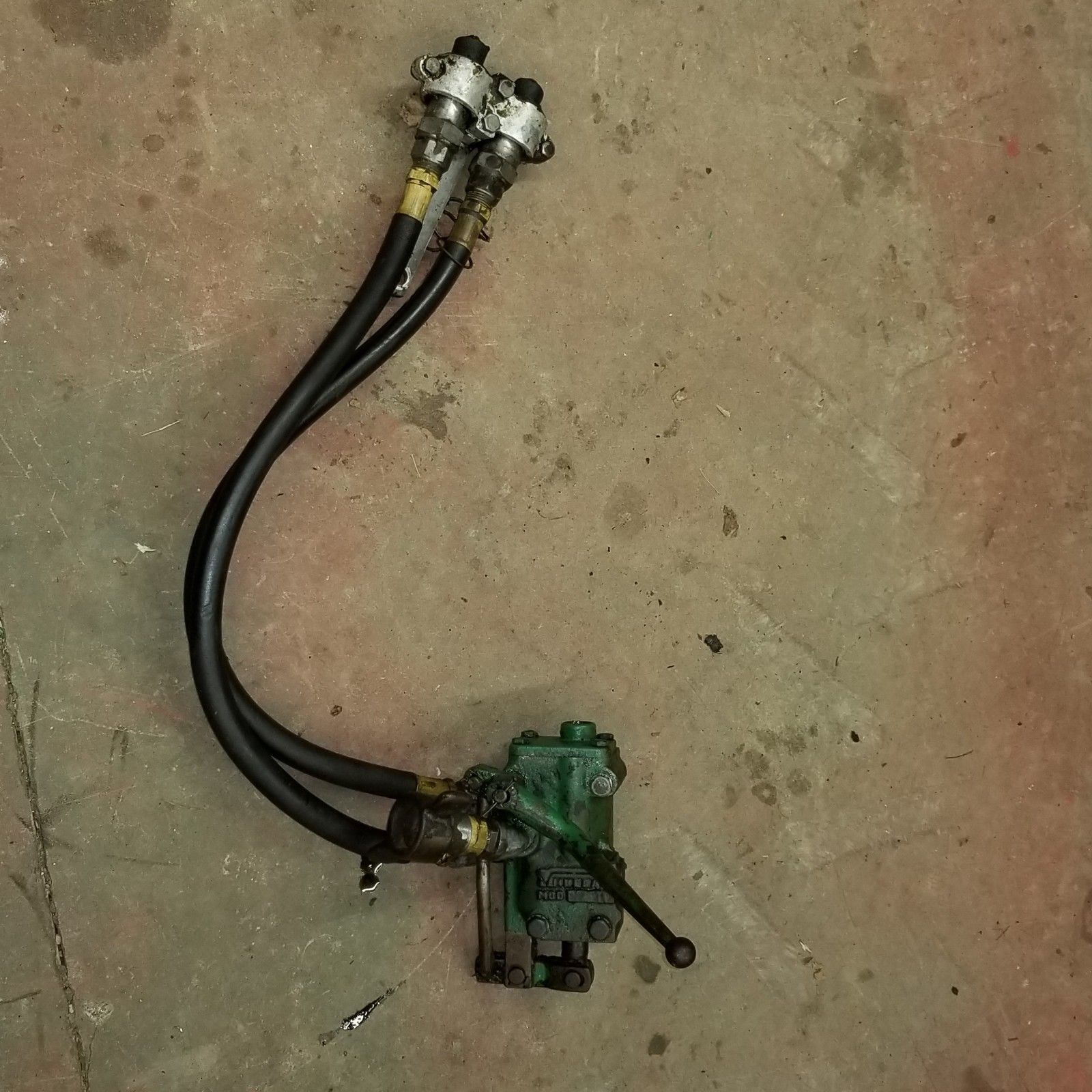 Oliver Tractor Auxilliary Hydraulic Valve Super 55 Or 550 Stuff New Holland Super  55 Oliver Super 55 Wiring