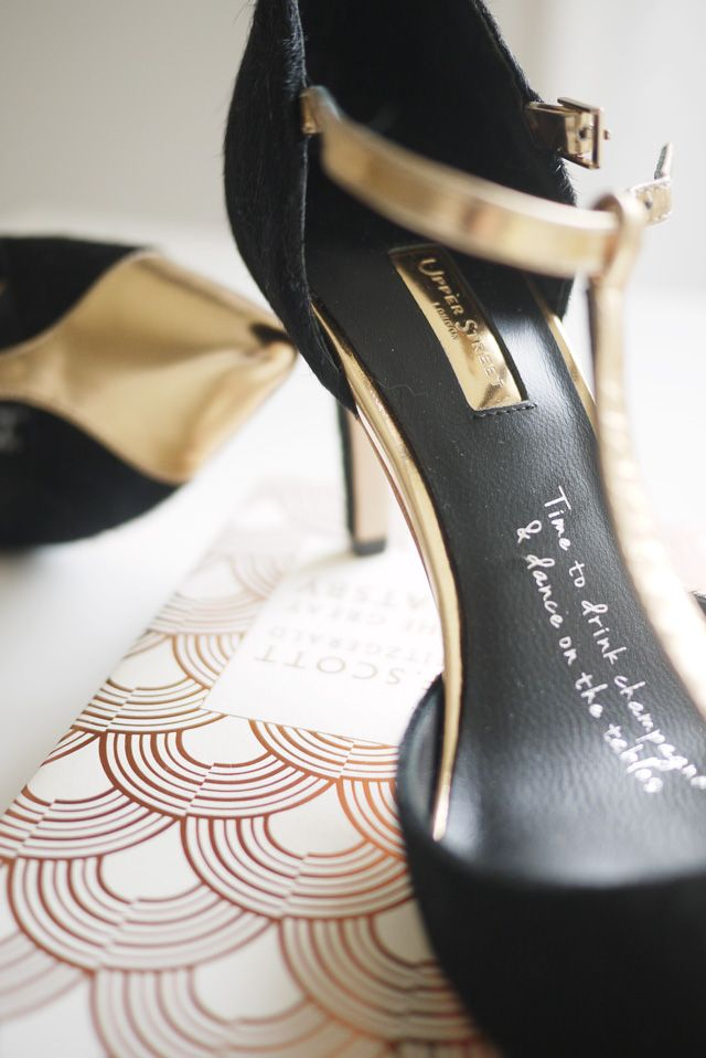Rose Gold Shoes With Insole Inscription For A Wedding Upper Street Shoes U2013 Design  Your Own