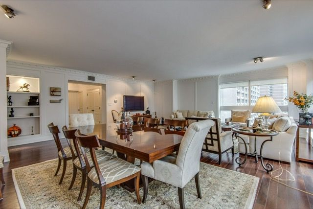 1132 Bay St Unit 701 Yorkville Condos For Sale Dining Living Room ...