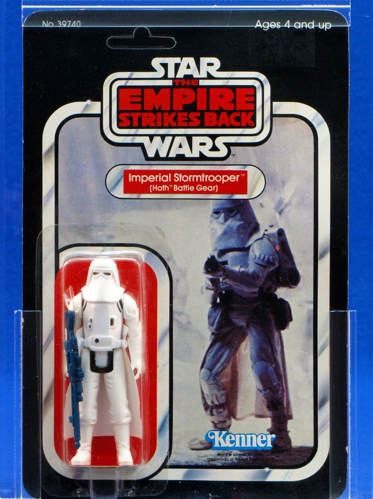 Imperial Stormtrooper Snowtrooper Hoth Vintage STAR WARS Saga Collection MOC
