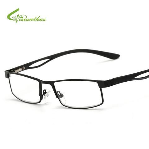 Apparel Accessories Full Metal Frame Resin Lenses Comfy Light Glasses For Men Women Reading Glasses 1.0 1.5 2.0 2.5 3.0 3.5 4.0