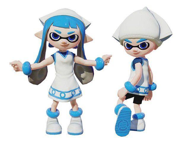 Splatoon Getting Squid Girl Anime Costumes, Web App