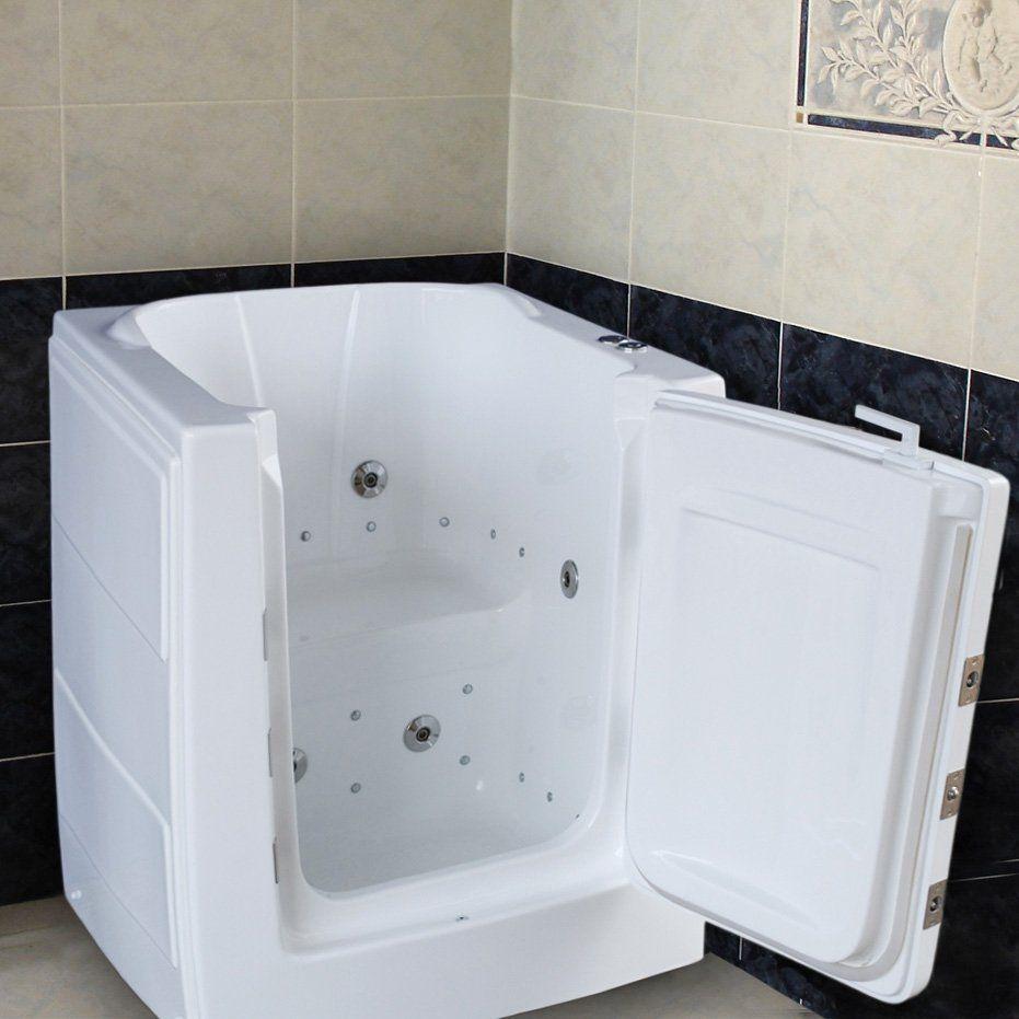 Medi Tub Mt3238rw Walkin Spa Walk In Tub Bathroom In