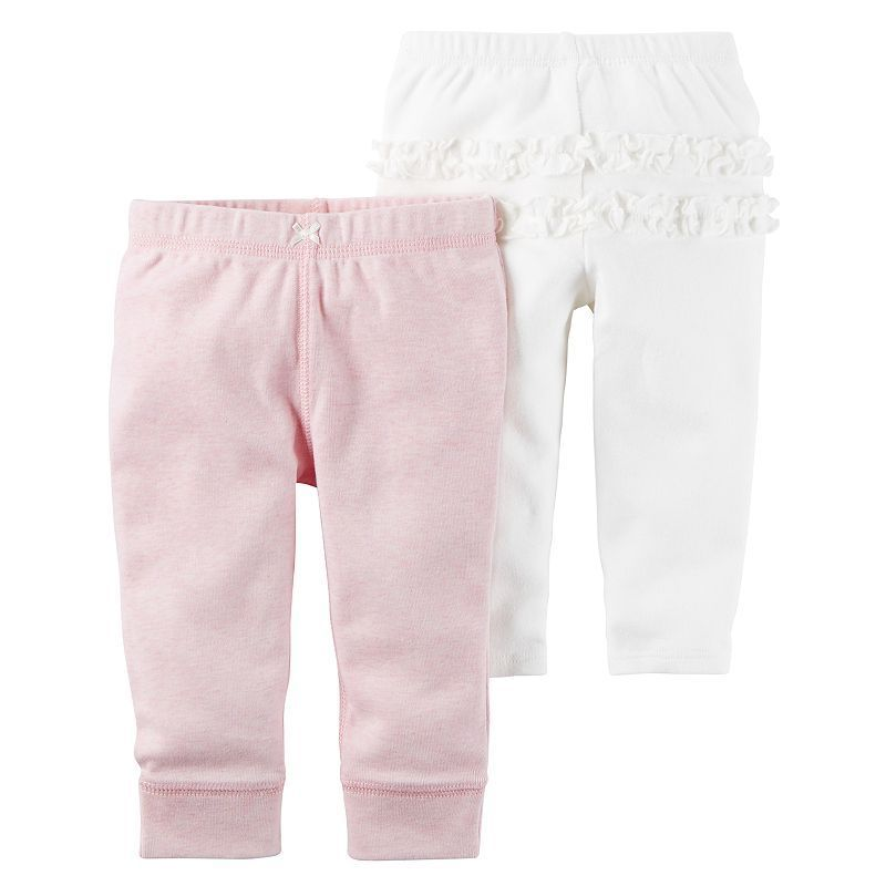 9c965182541a Baby Girl Carter s 2-pk. Ruffled Pants