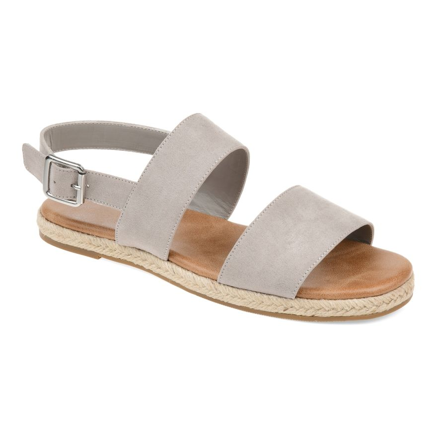 846aa2cea3c Journee Collection Georgia Women's Sandals, Size: 8.5, Grey ...