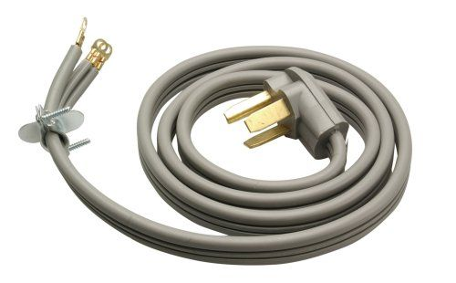 3WIRE DRYER CORD UL Listed. Thick vinyl insulation with