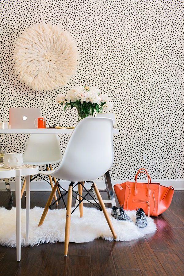 Einrichtungsideen mit Fell kuschelige Möbel für kalte Wintertage! - stühle für wohnzimmer