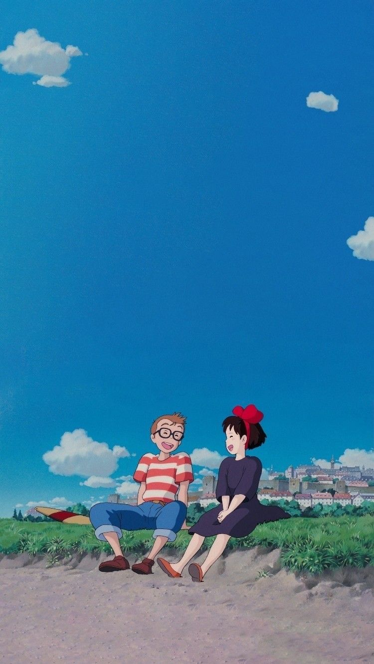 Ghibli Sky Wallpapers ✈️