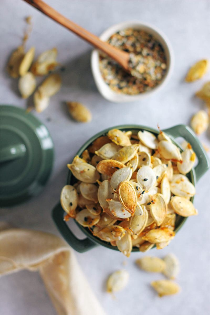 Everything Pumpkin Seeds Recipe #pumpkinseedsrecipe
