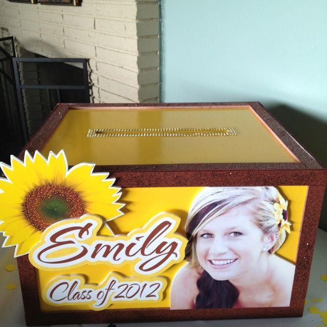 diy graduation card box  card box  graduation diy