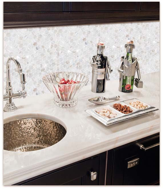 Home Elements Mother Of Pearl Tile