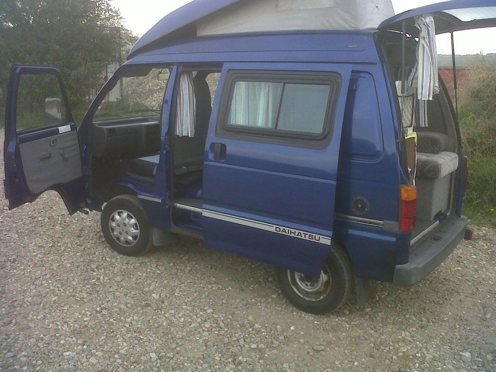 Mini Van Motor Home : Daihatsu hijet campervan mini camper and
