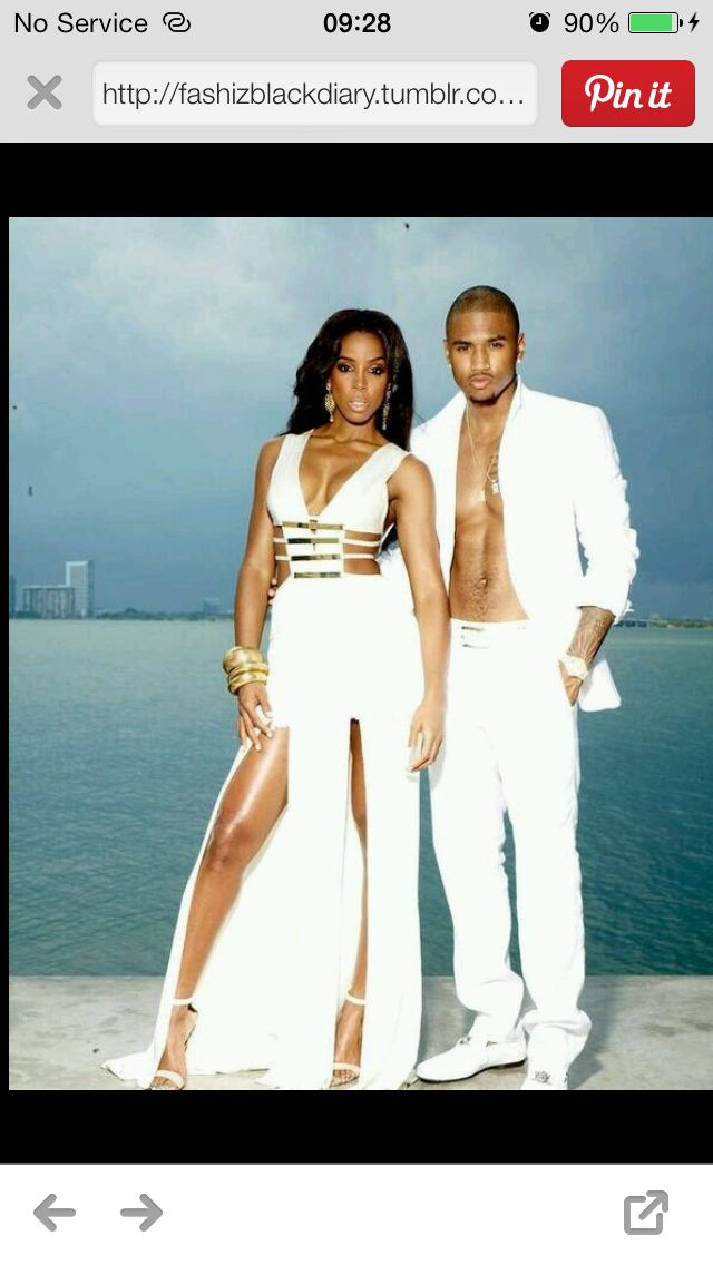 Kelly Rowland and Trey Songz | Black hollywood, Favorite ...