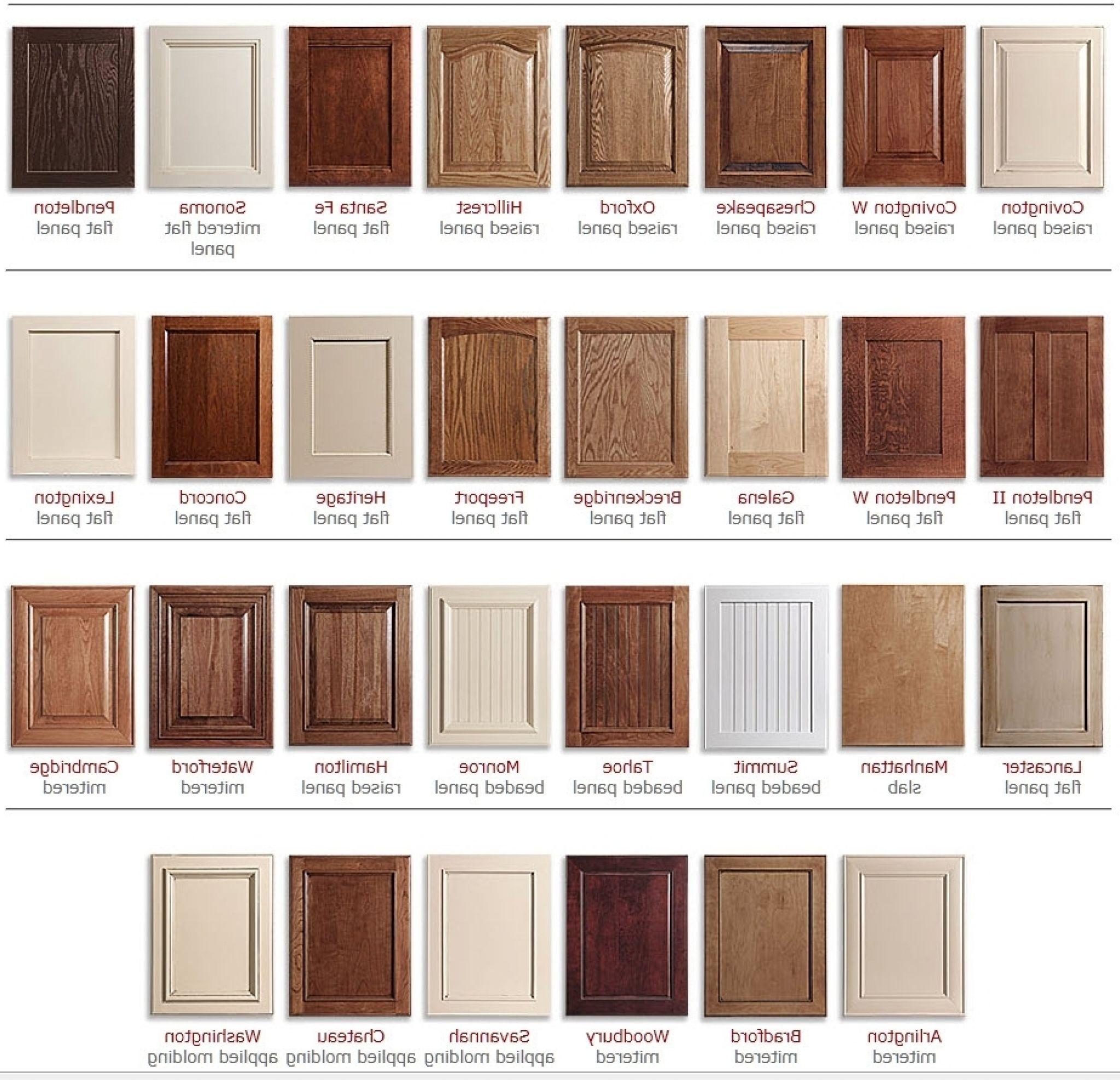 kitchen cabinet door styles options - kitchen towel storage ideas ...
