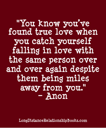 love distance quotes True