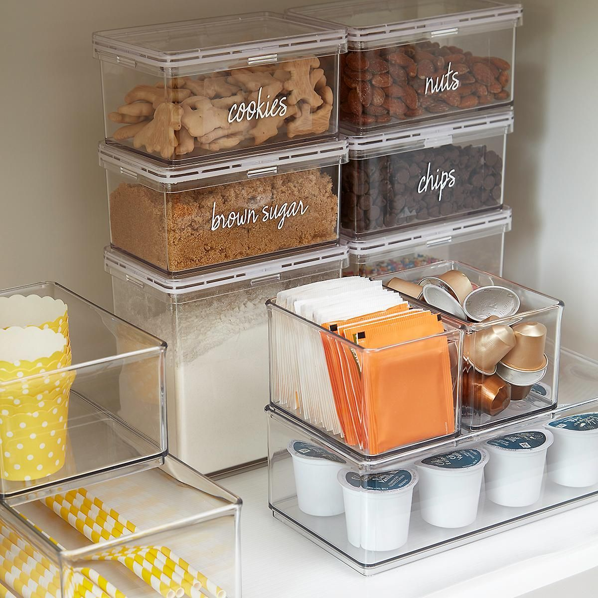 This Exclusive Container Store Collection Is A Marie Kondo Storage Dream The Home Edit Container Store Organization Kitchen Organization Pantry