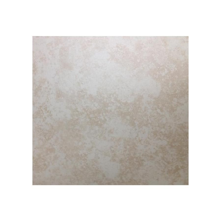shop project source in x in devanna beige ceramic floor tile projects
