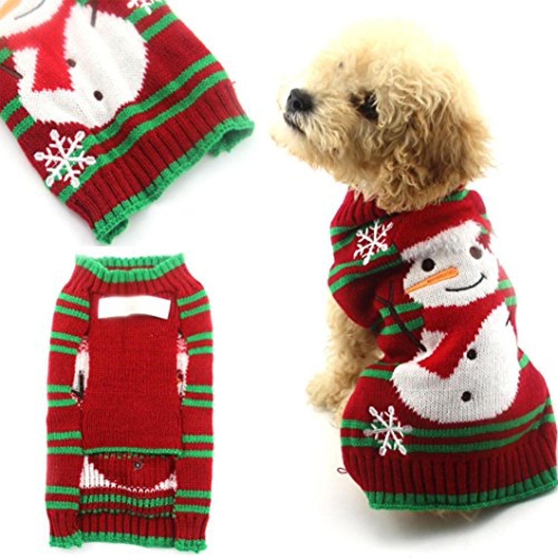 Medium Crop Of Dog Christmas Sweater