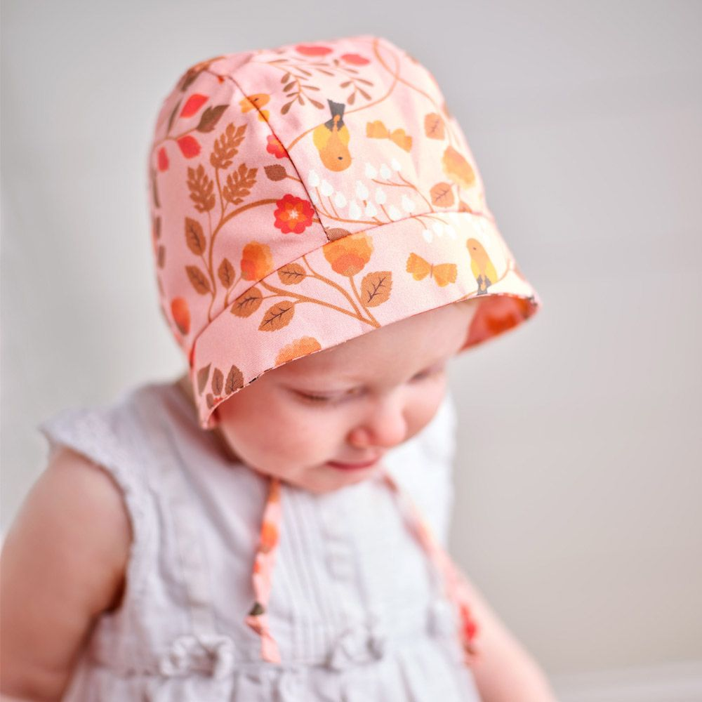 How to Make an Adorable Baby Bonnet
