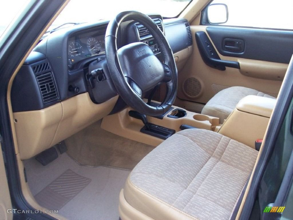 Image result for 2001 jeep cherokee XJ tan interior Jeep