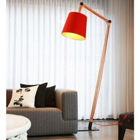george standing lamp