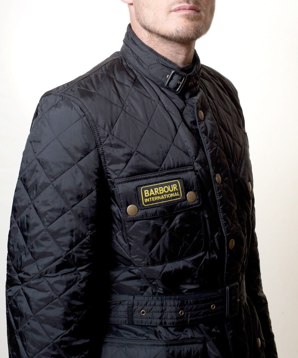 Mens Barbour International Quilted Jacket Gt Gt Barbour Quilted