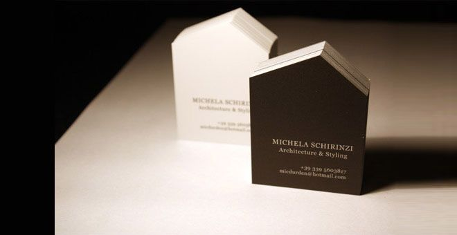 40 Creative Real Estate And Construction Business Cards Designs 1 More
