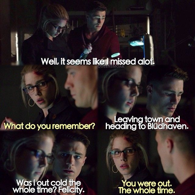 Roy and Felicity