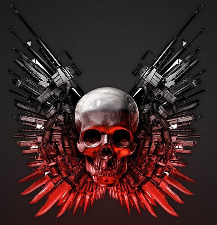 Expendables Tattoo Wallpaper Expendable Tattoo Drawing By: 17 Movie Posters Redesigned With Better Titles