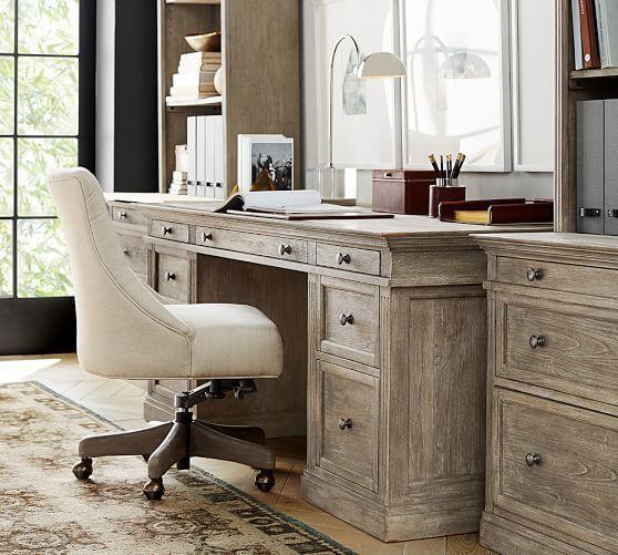 pottery barn bedford rectangular office desk. Pottery Barn Bedford Rectangular Office Desk. Delighful Livingston Large Desk Intended T