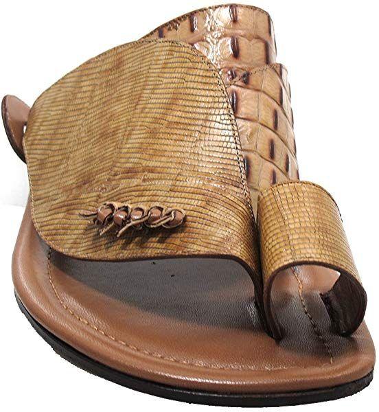 Amazoncom Davinci Mens Italian Leather Sandals Push Toe Beige