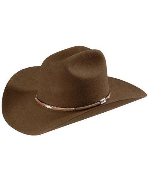 Resistol George Strait Added Money 4X fur felt cowboy hat  10fe003d634