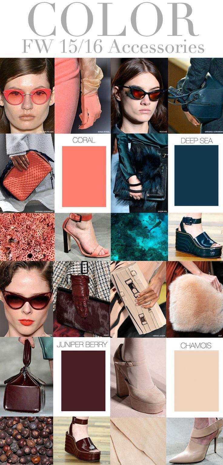 Accesorios y colores en tendencia este otoño invierno #FW #2015 #2016 #ResiduoZero #colors #accessories #clutches #shoes #bags #sunglasses
