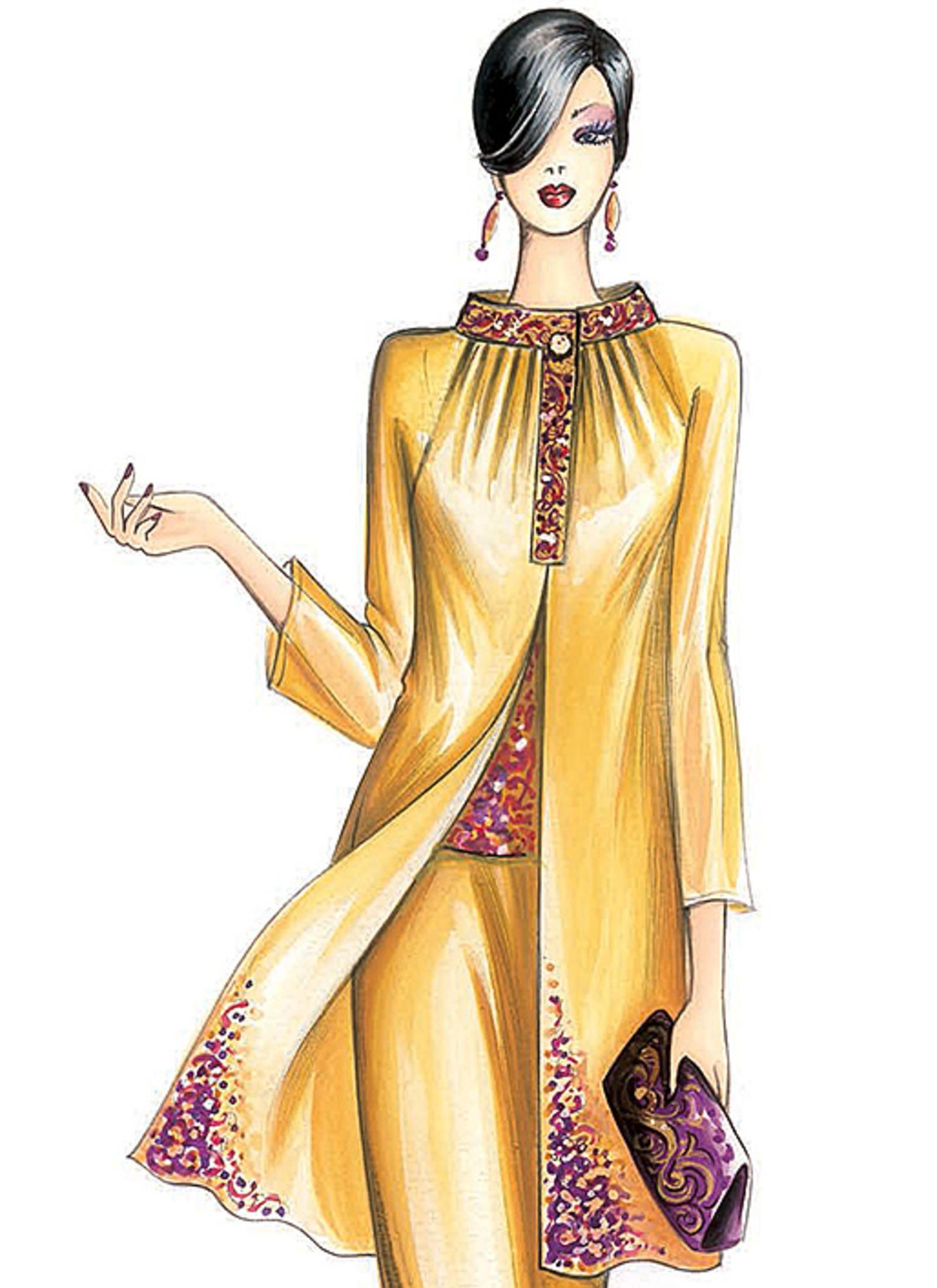 F5294 Mccall S Patterns Fashion Illustration Dresses Fashion