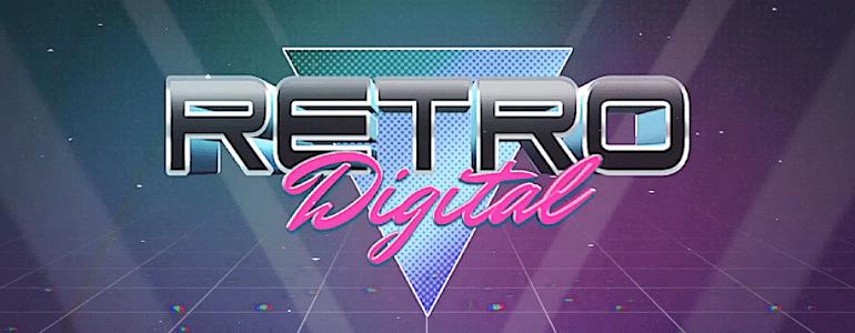 Retro Digital Retro Theme Unique Layout