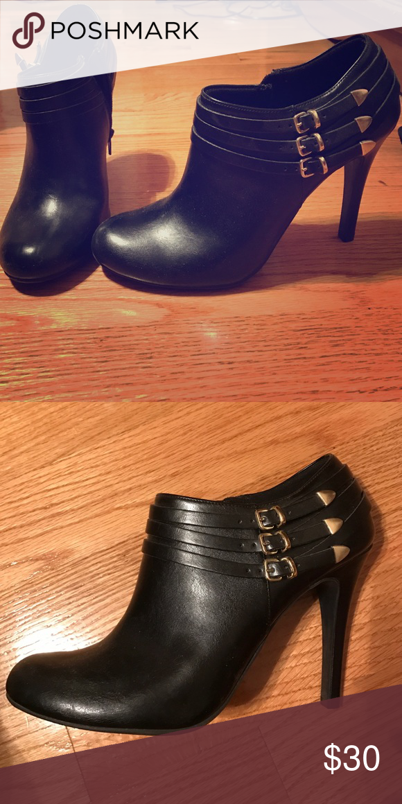 a31b4b69a286 Fioni Ankle Boots Fioni Black Ankle Boots FIONI Clothing Shoes Ankle Boots    Booties