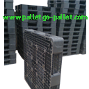 Hiện nay công ty pallet có một số sản phẩm pallet nhựa cũ với một số kích thước sau: - Pallet nhựa cũ 1100 x 1100 x 120 (mm) - Pallet nhựa cũ 1150 x 850 x 125 (mm) - Pallet nhựa cũ 1100 x 1400 x 100 (mm) Liên hệ với chúng tôi trên website: http://www.palletgo-pallet.com