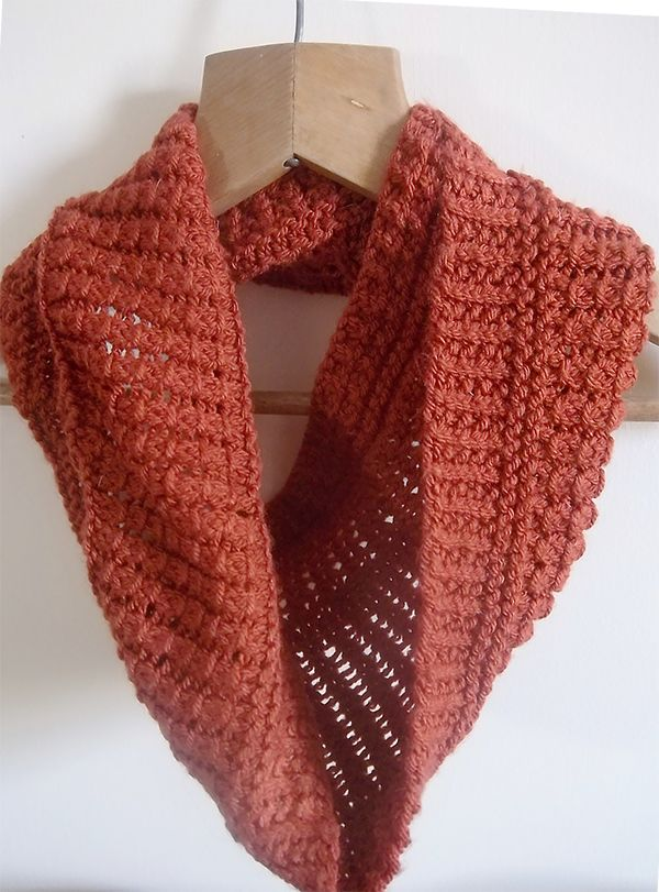 Free Knitting Pattern For One Skein Portreath Cowl Knit With One