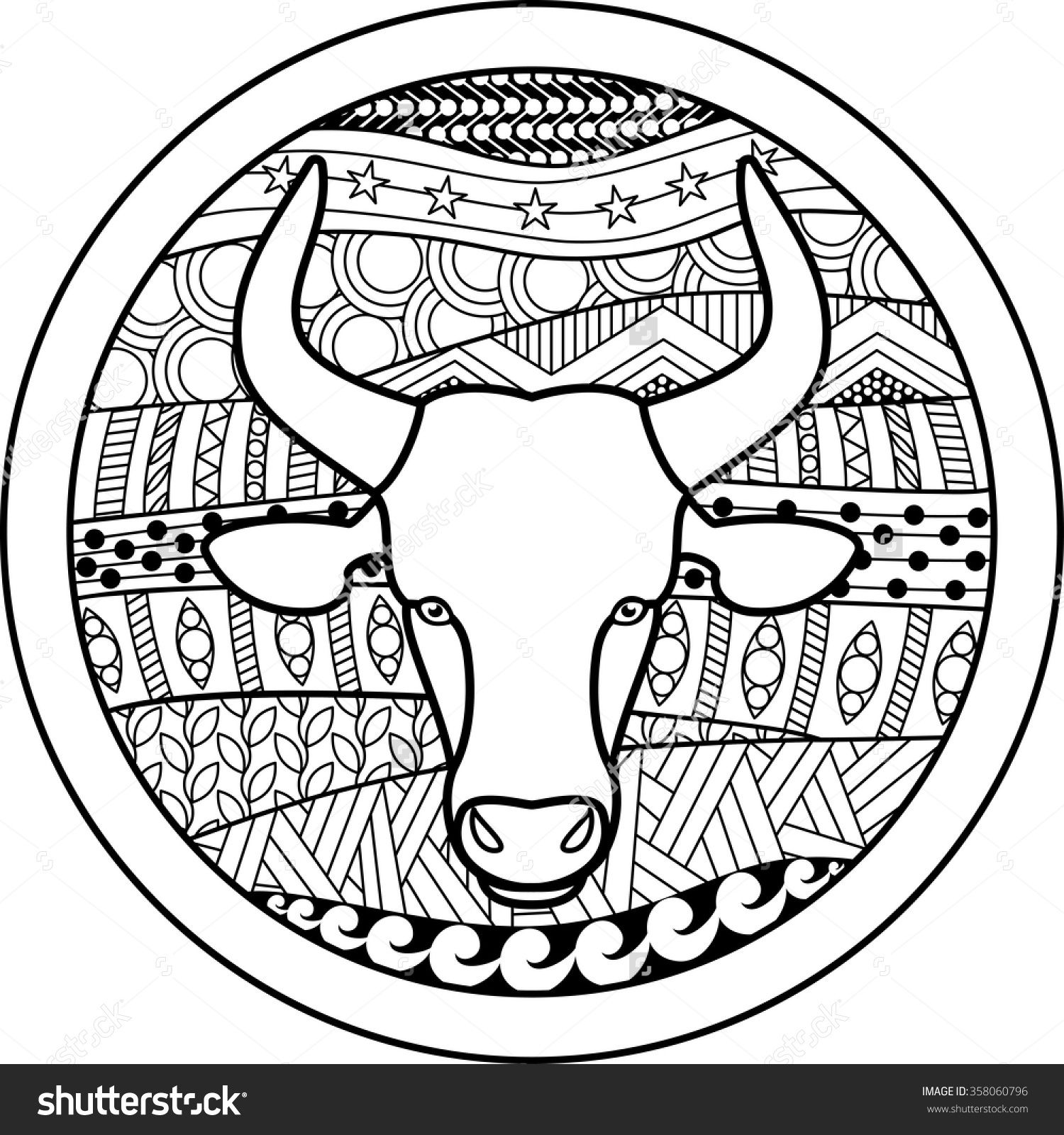 zodiac sign taurus zentangle coloring pinterest zodiac signs zodiac and zodiac signs taurus. Black Bedroom Furniture Sets. Home Design Ideas