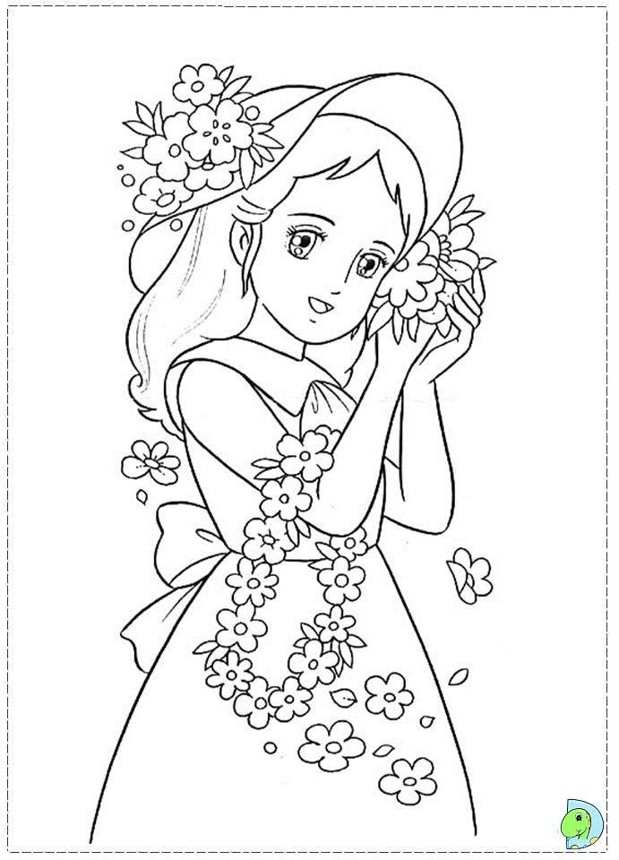 Pingl par marjolaine grange sur coloriage princesse sarah coloring pages color et coloring - Coloriage manga livre ...