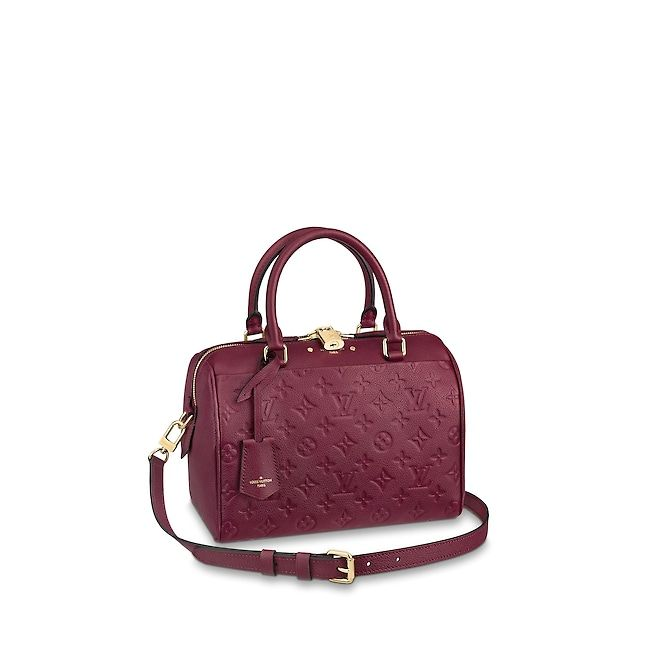 db00636d3d63 View 1 - View 1 - Monogram Empreinte Leather HANDBAGS Top Handles Speedy  Bandoulière 25