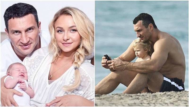 hayden panettiere and wladimir klitschkos daughter kaya
