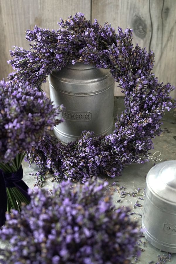Photo of Lavender wreath …
