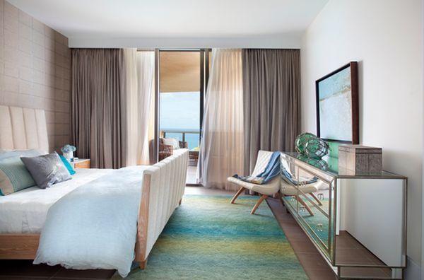 maritim einrichten batik stil teppich spiegelkommode Schlafzimmer