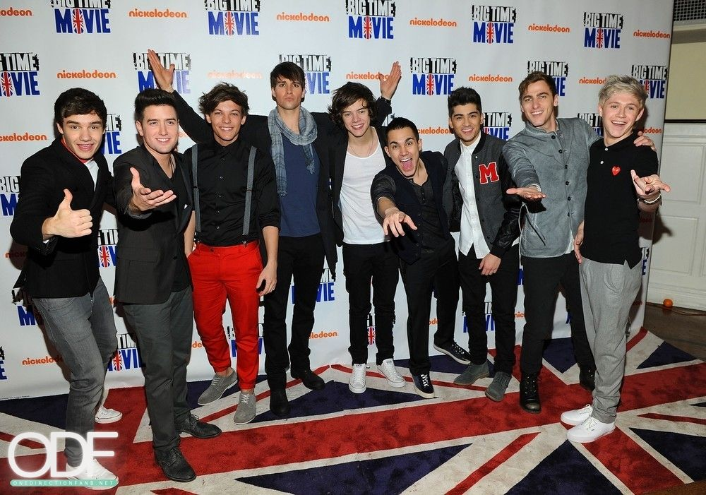 One Direction and Big Time Rush