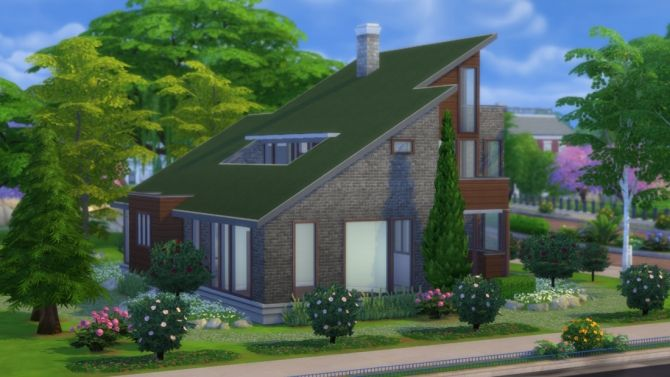 Fern Park Ave house at DeSims4 via Sims 4 Updates  Check more at http://sims4updates.net/lots/fern-park-ave-house-at-desims4/