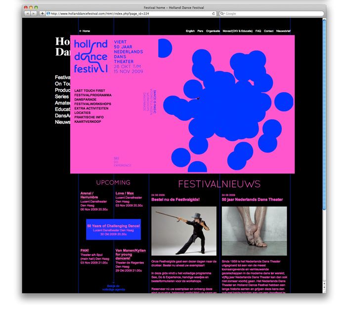 Holland dance festival website3