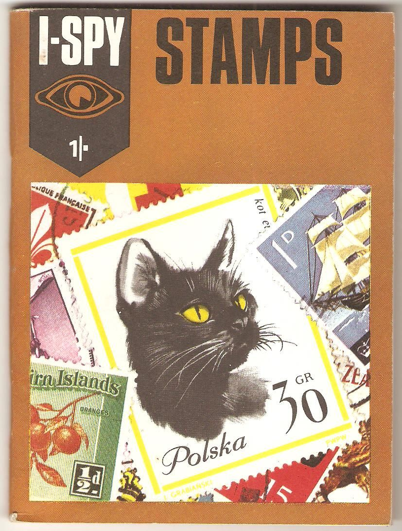 Stamps. Nostalgic books, I spy books, Childhood books
