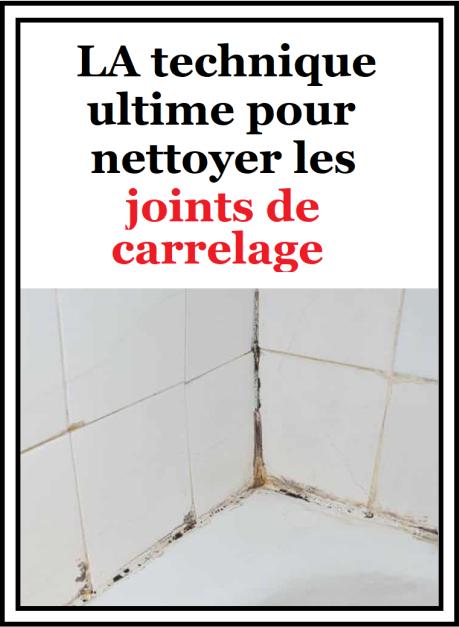La Technique Ultime Pour Nettoyer Les Joints De Carrelage Joint De Carrelage Produit De Nettoyage Faits Maison Et Nettoyage De Maison