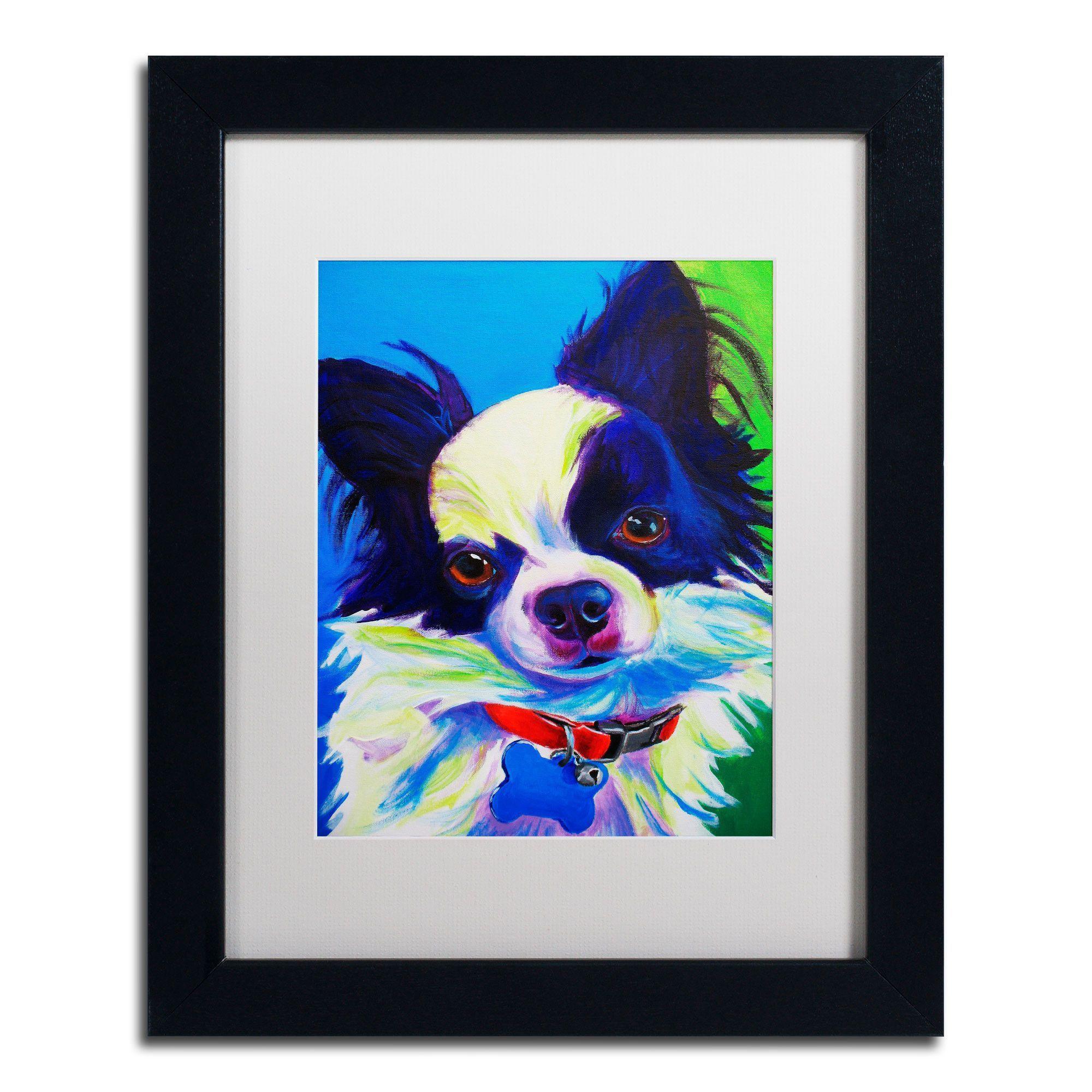 Esso Gomez\' by DawgArt Framed Painting Print